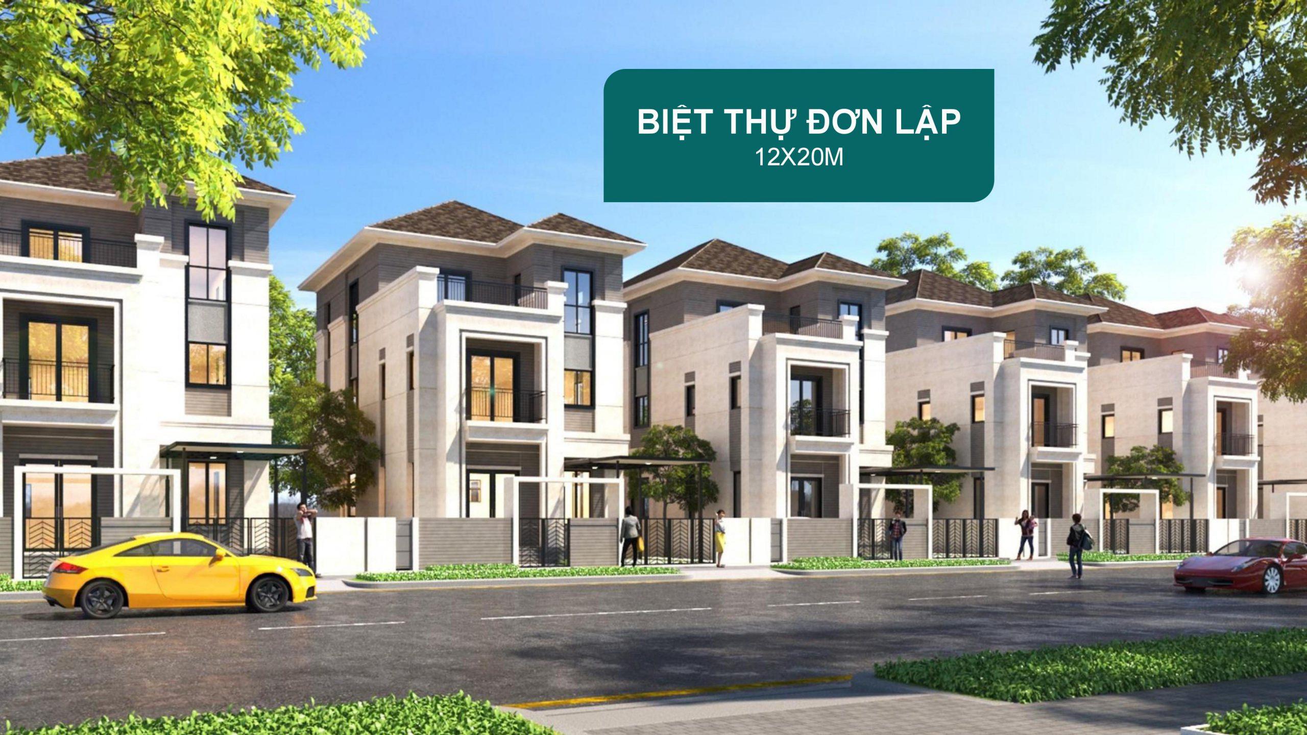 Biet Thu Don Lap Aqua City 12x20
