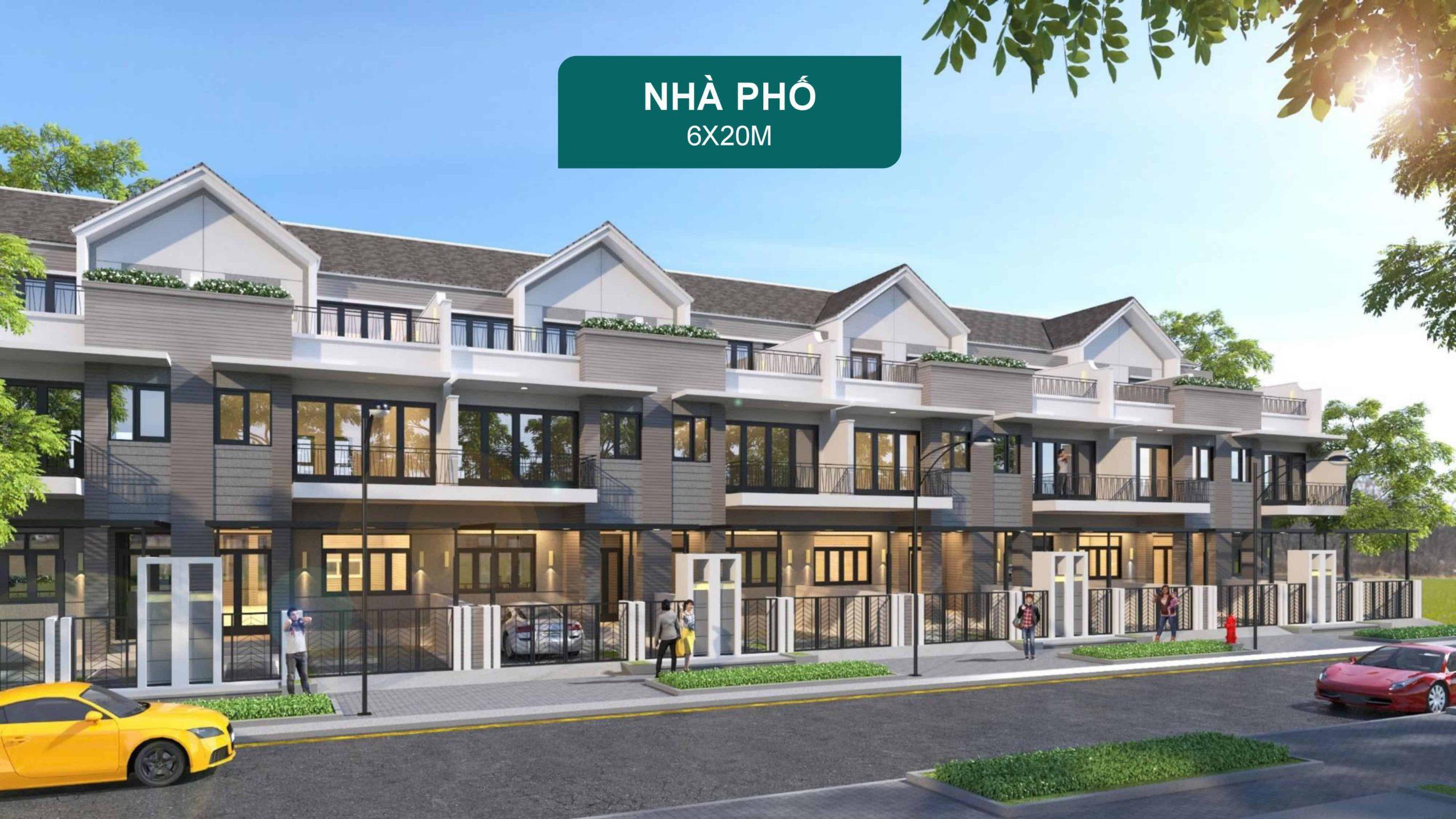 Nha Pho Aqua City 6x20