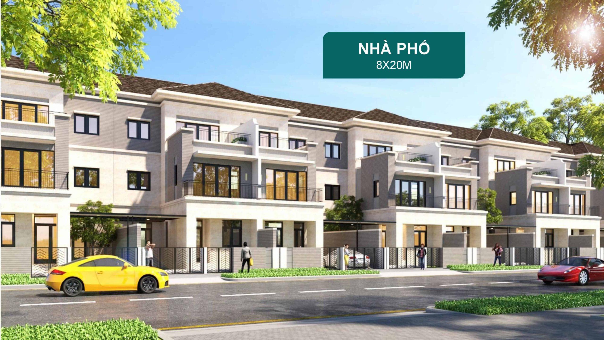 Nha Pho Aqua City 8x20