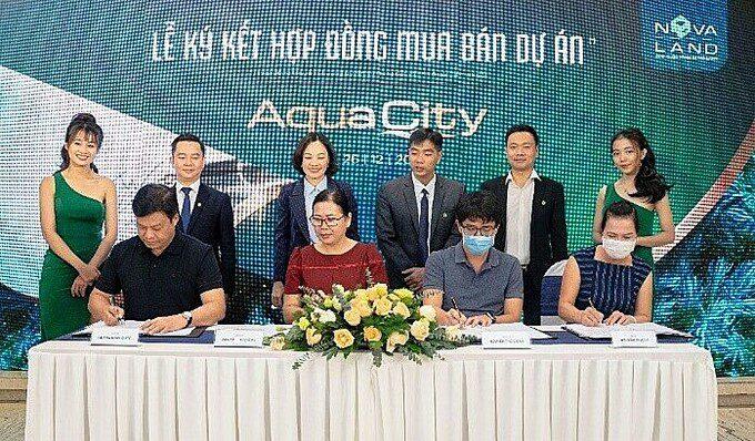 Aqua City Tang Suc Hut Nho Tien Do Va Tiem Nang Sinh Loi