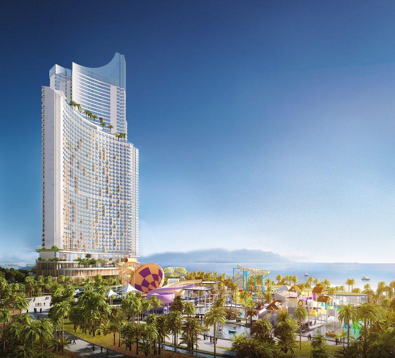 Phoi Canh Sunbay Park Hotel Va Resort Phan Rang