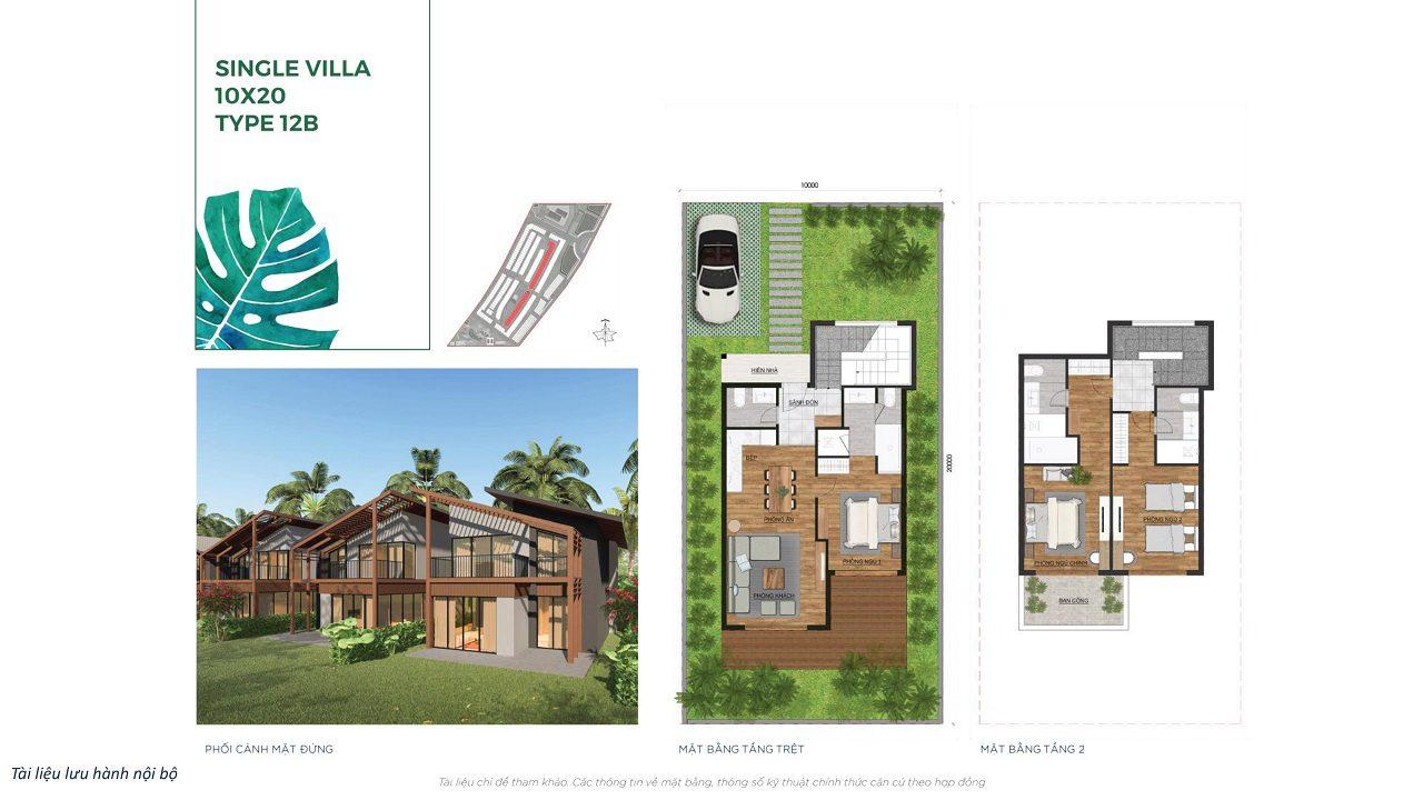 Single Villa 10x20