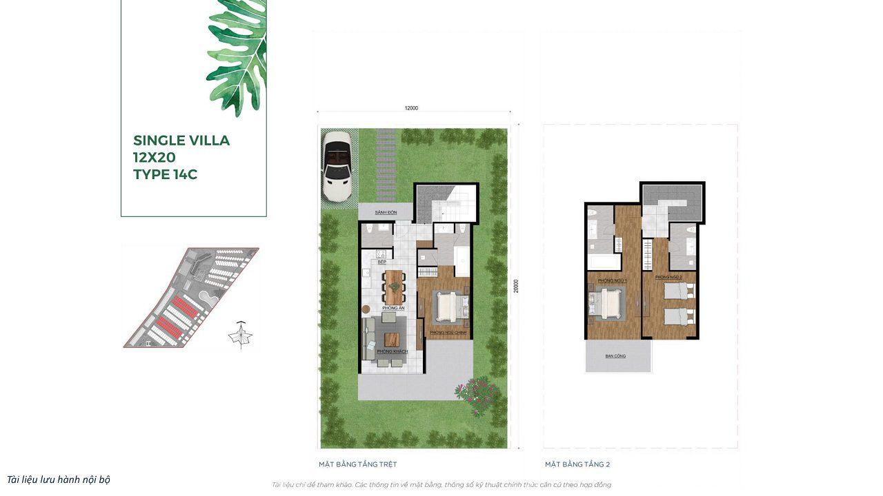 Single Villa 12x20