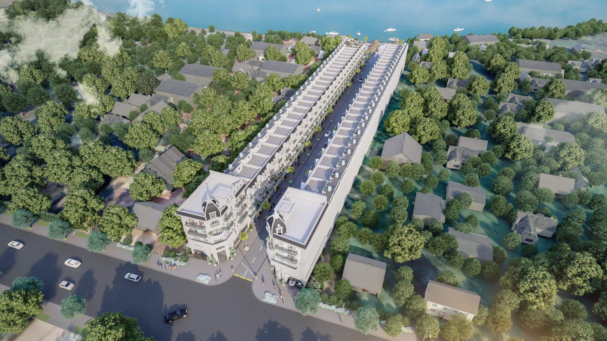 Nhà phố ven sông TPS Land 52 Nguyển Xiển Quận 9